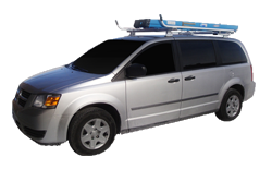 Minivan Ladder Rack